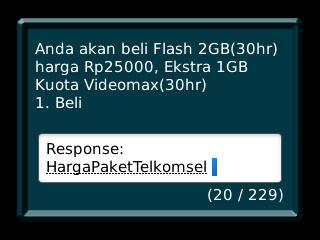 Buat Paket Internet Telkomsel Kuota 2GB Murah Harga 25 Ribu