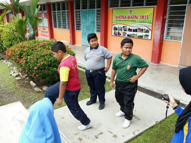 Ajar murid elak obesiti