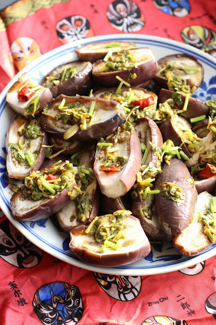 recette chinoise aubergines