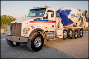 American Rock Products Kenworth T880 Mixer Truck