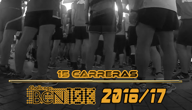 ChallengeBCN10K 2016/17 - 15 carreras