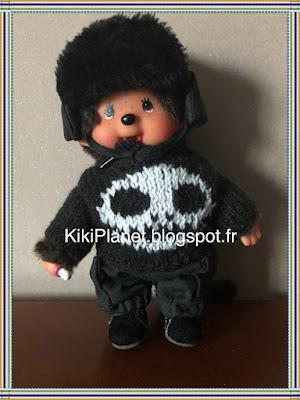 Chapka faite main pour Kiki ou Monchhichi, couture, handmade, chapeau, bonnet