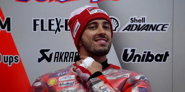Pebalap Ducati Team Andrea Dovizioso