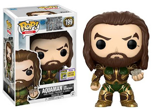 Pop! Movies: Justice League – Aquaman with Motherbox.