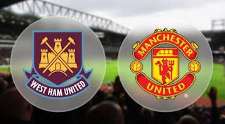 Susunan Pemain West Ham vs Manchester United