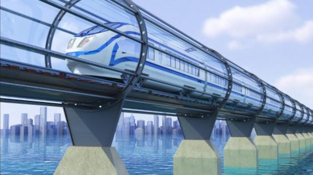 Jakarta-Yogyakarta dengan Naik Hyperloop