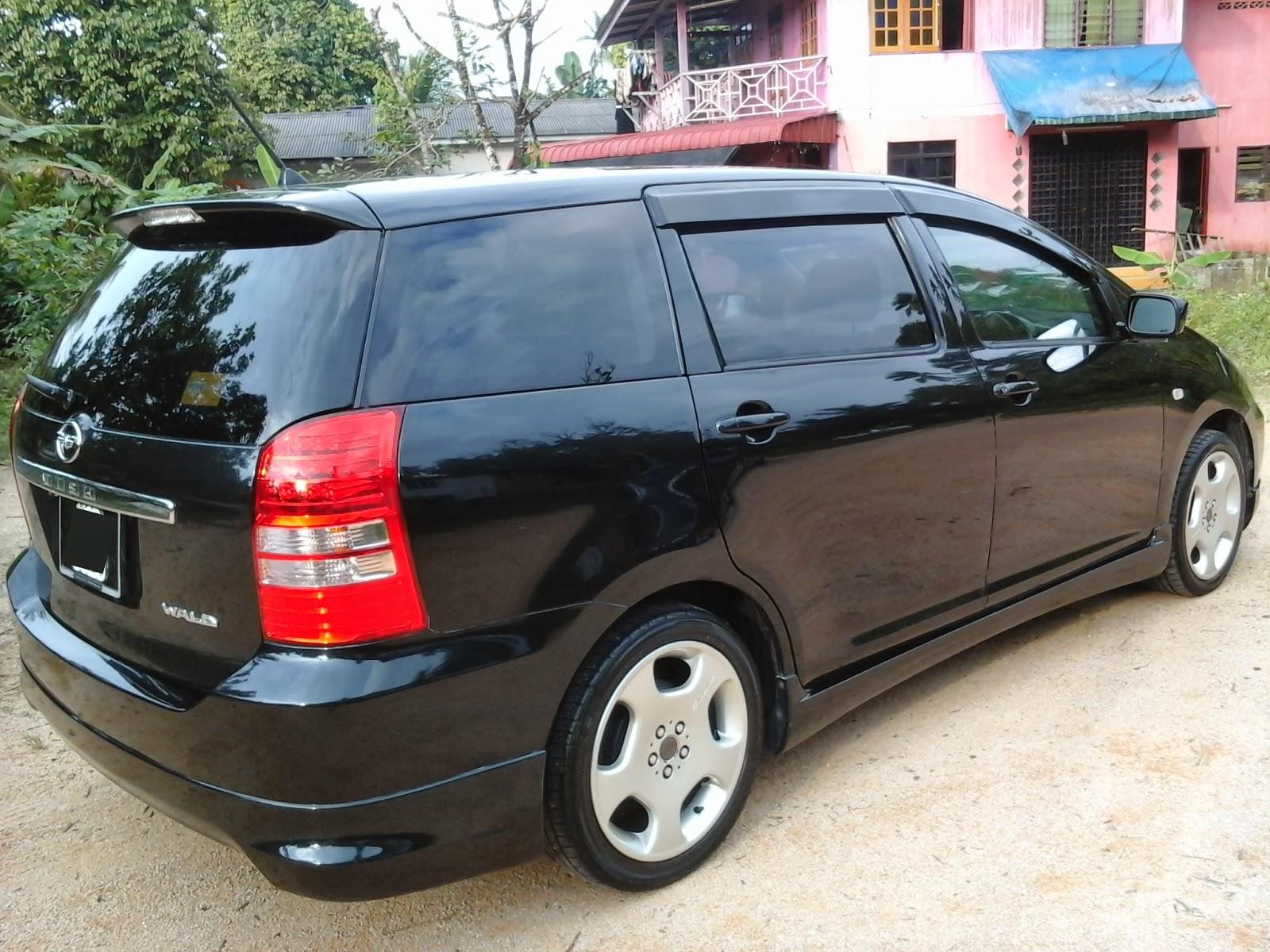 Johor Ke Terengganu. Perjalanan Yang Jauh: Toyota Wish