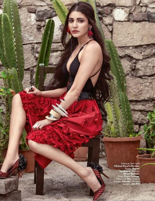 Anushka Sharma Looks Gorgeous in Vogue Magazine May 2016