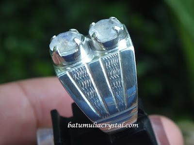 cincin perak custom