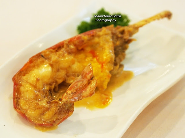 Baked Water Prawn With Cheese