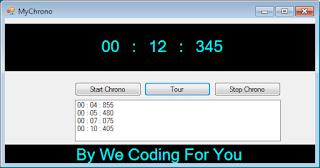 MyChrono Source Code