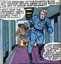Fantastic Four 44 Johnny Storm