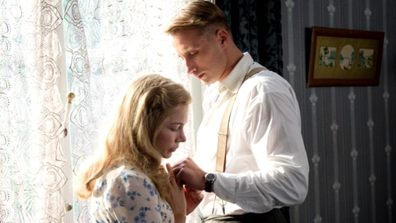 Suite Française - Michelle Williams e Matthias Schoenaerts