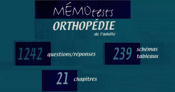 Mémo Tests d'Orthopédie PDF