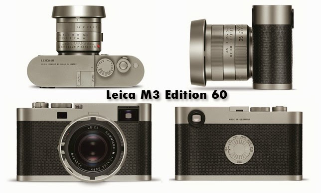 Meet Leica M3 Edition 60 that Possess the Unique Characteristics of First Leica M-Camera-System