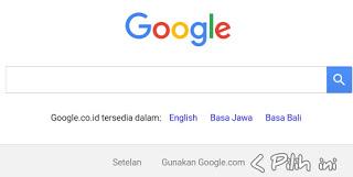 hasil setting google