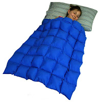 Deep Pressure using a weighted blanket
