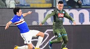 نابولي يحقق انتصار كبير ومثير على فريق سامبدوريا برباعية في الدوري الايطالي