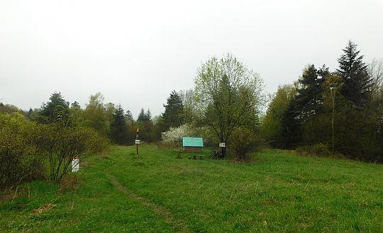Przełęcz Łupkowska, tunel (640 m n.p.m.).