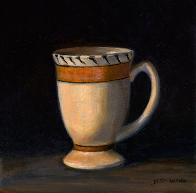 Mug Still Life Oil Painting by Jeff Ward