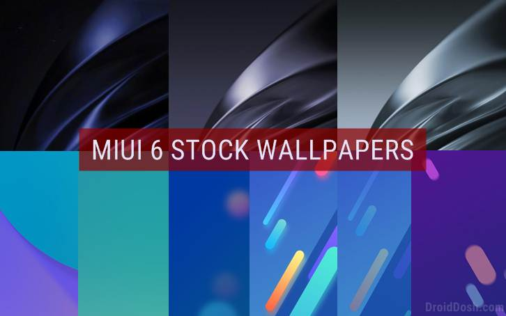 Download Xiaomi Mi 6 Stock Wallpapers
