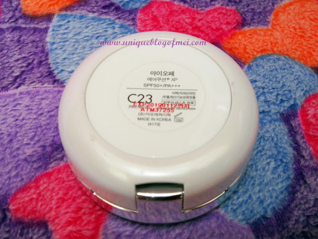IOPE Air Cushion XP C23 Review 5
