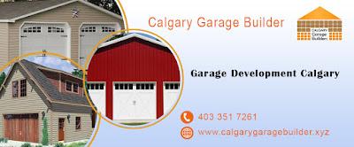 single garage, double garage, garage builder, Calgary Garage Builder