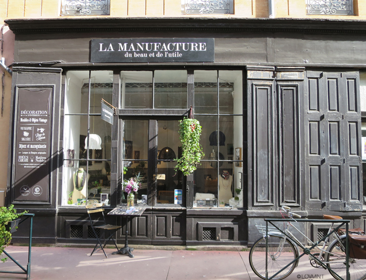Boutique la Manufacture Toulouse blog