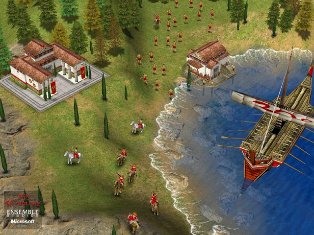 Age of Mythology Free Download Full Version Screenshot 1