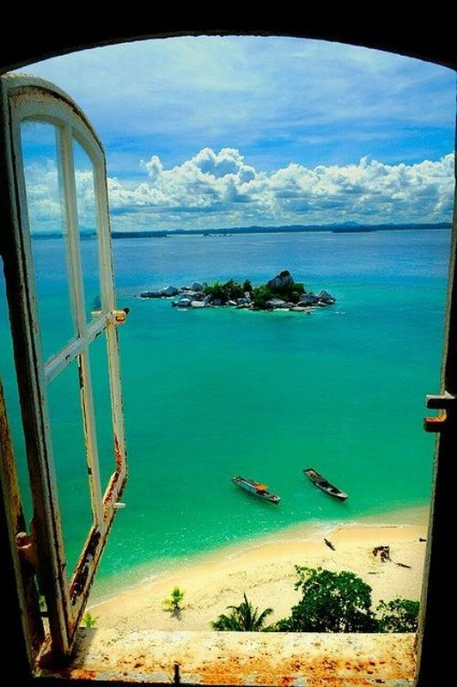 Amazing Indonesian view