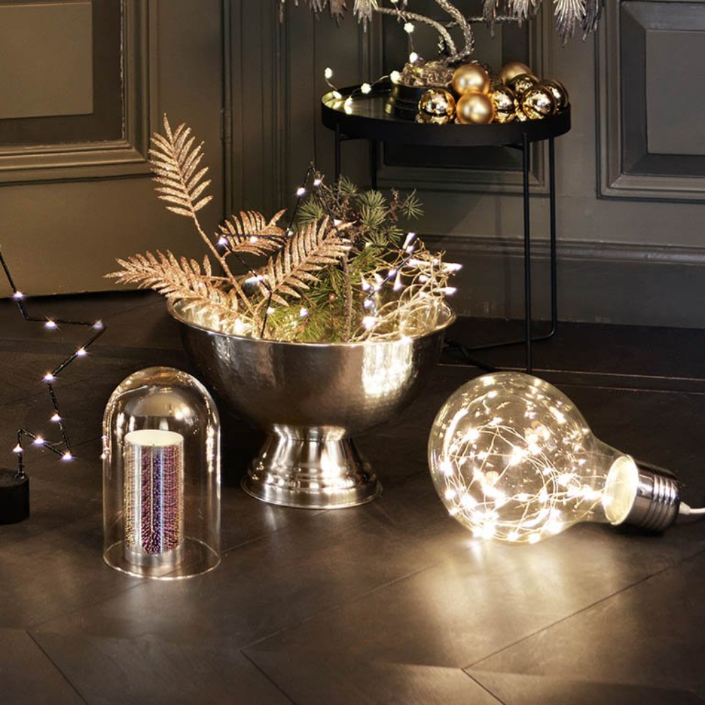 Christmas-Schmuck macht glücklich Beleuchtung