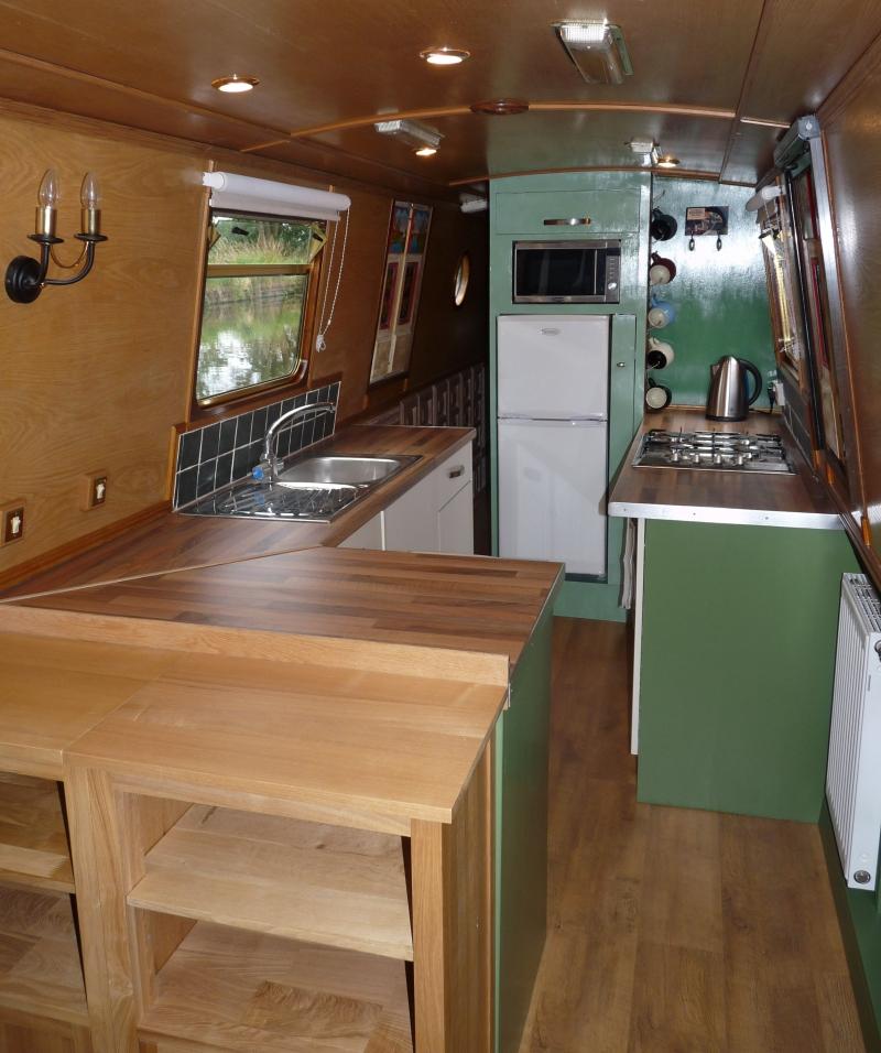 Ideas Interior: Free To Venture..: Narrow-boat Interior And Exterior Ideas