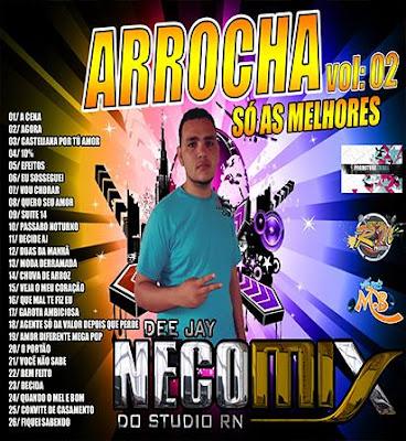 Cd Arrocha vol.02 Deejay Neco Mix 19/04/2016