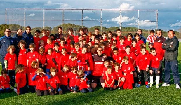 X Edición del Clínic de Semana Santa 2014 de La Fundación Atlético de Madrid