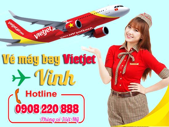 vé máy bay Vietjet Air đi Vinh