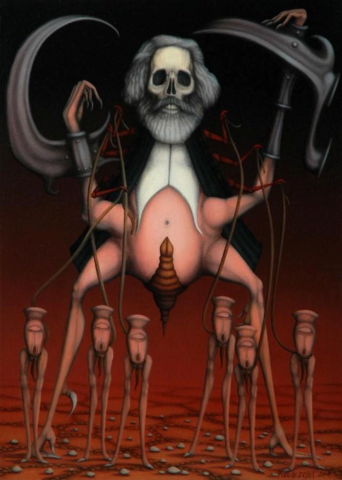 Ужасы древних мифов. Hugues Gillet 17