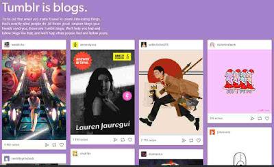 blogging platform Tumblr