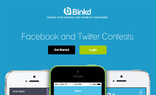 Binkd App for Facebook Tabs
