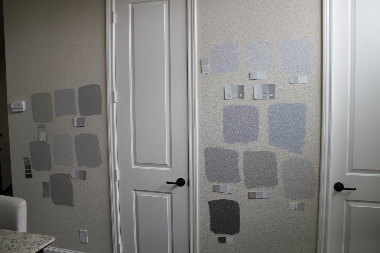 I Am Slowly Going Grayz Veronikas Blushing - Gray paint colors for kitchen walls