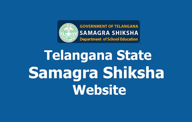 Telangana State Samagra Shiksha Website: samagrashiksha.telangana.gov.in