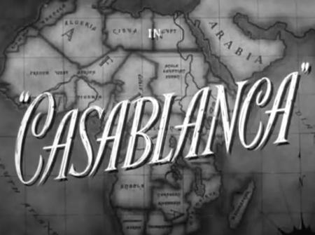 Casablanca opening credits