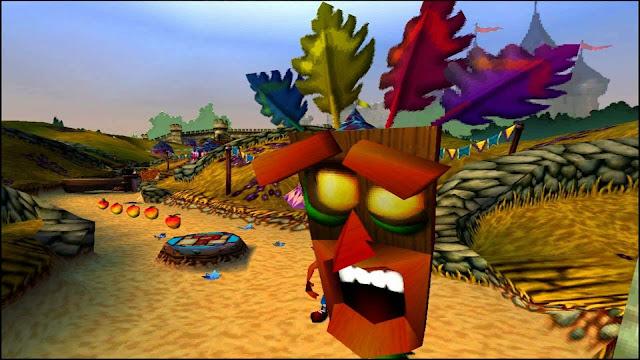 Crash Bandicoot, um game muito bom