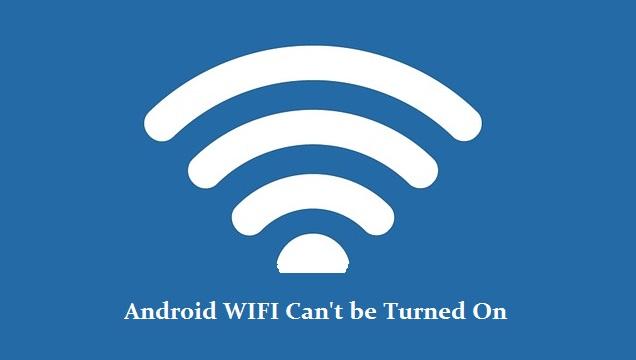 WIFI tidak bisa nyala