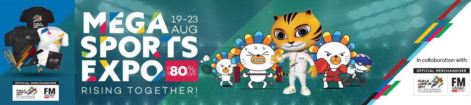 SEA Games 29th Kuala Lumpur 2017 Merchandise