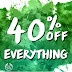 The Body Shop Kuwait - Hurry shop up to 40% OFF EVERYTHING at The Body Shop