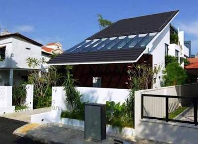 Contoh Bentuk Model Atap Rumah Minimalis 1 & 2 Lantai Terbaru