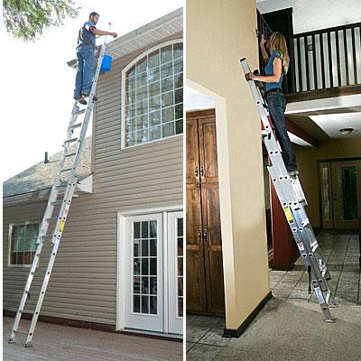 Chọn loại thang nhôm sử dụng ở công trường