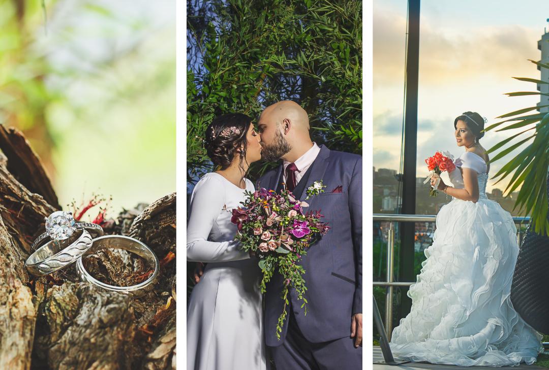 Fotografía profesional de bodas en Medellín