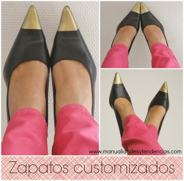 http://www.manualidadesytendencias.com/2012/09/diy-zapatos-con-punta-metalizada.html