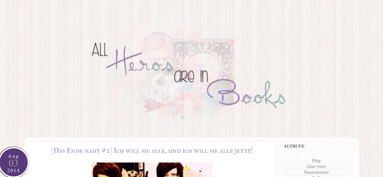 http://bemybookhero.blogspot.de/